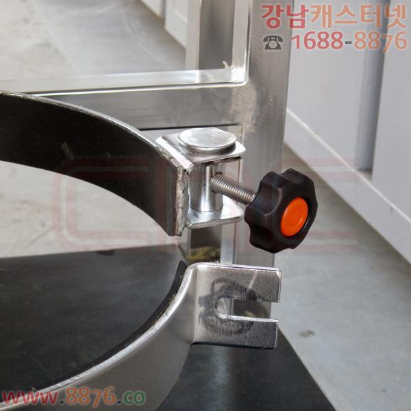 원통형 장비 적재 SUS대차 (전해연마)