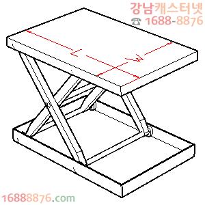 테이블리프트 테이블 규격